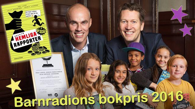 Barnradions bokpris : Vinnaren utses