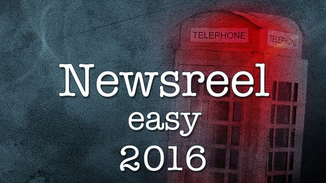 Newsreel Easy : 2016-11-05