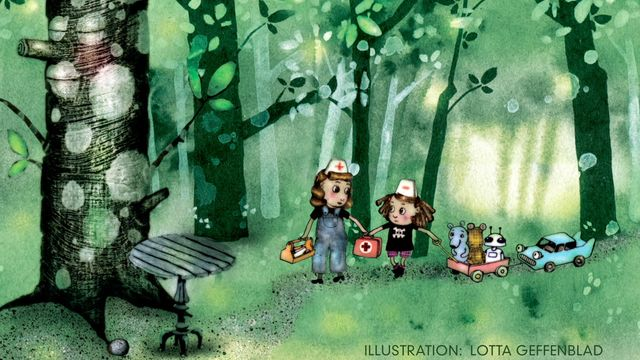 Tripp, Trapp, Träd : Alla glada