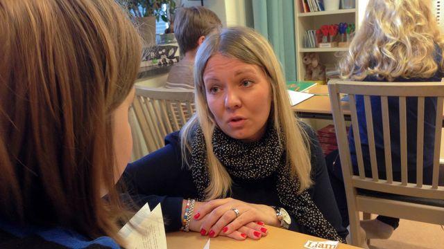 Lärarrummet : Skola med en touch av Finland