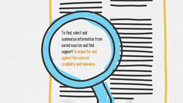 Förstå kunskapskraven - engelska : Att resonera om källans trovärdighet