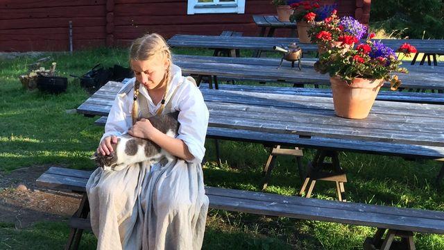 Barnaministeriet dokumentär : Kerstin och fäboden