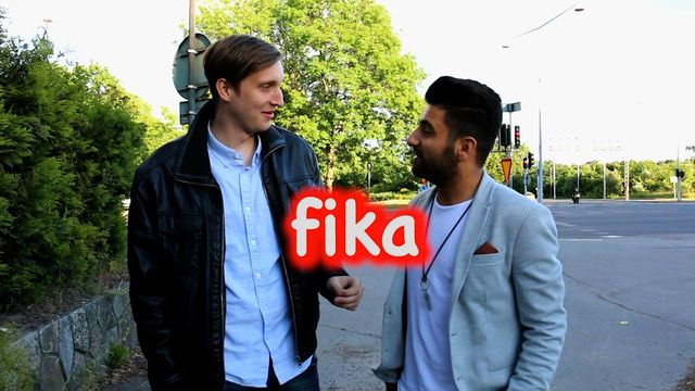 Svenska med Mahmoud Bitar : Fika