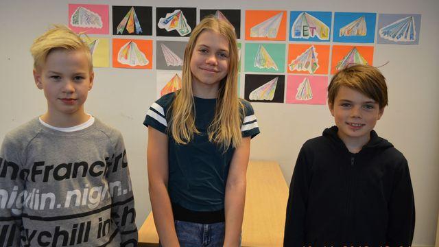 Radioskrivarklubben - finska : Katten Geraldine och osynliga draken Buster