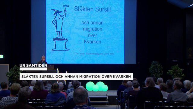 UR Samtiden - Släktforskardagarna 2016 : Släkten Sursill och migrationen över Kvarken