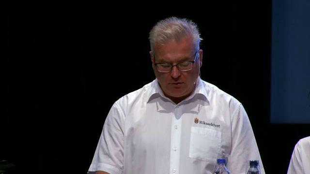 UR Samtiden - Släktforskardagarna 2016 : Riksarkivet och intresset för digitaliserad information