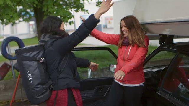 Amina och Alicia på fysikresa - teckenspråk : Tryck