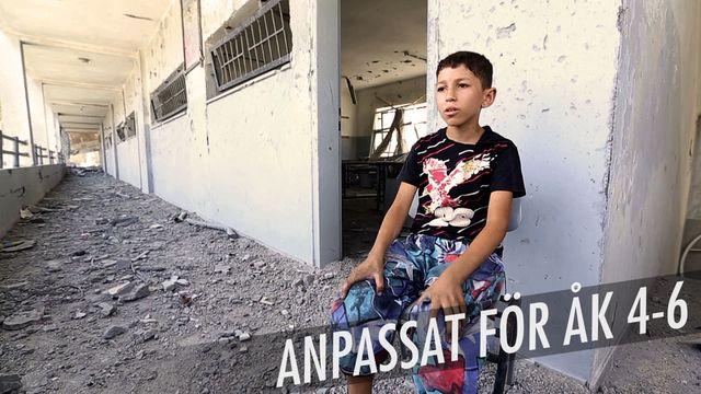 Min skola mitt i kriget : De bombar vår skola