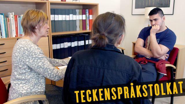 Skolpojkarna - teckenspråkstolkat : Politikerna besöker Skrantaskolan