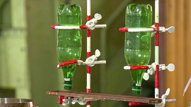 Kemiexperiment : Vätgasraket