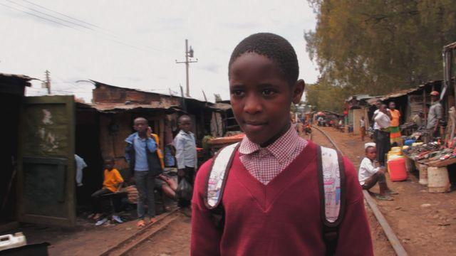 Uppdrag skolväg : Samson i Kenya