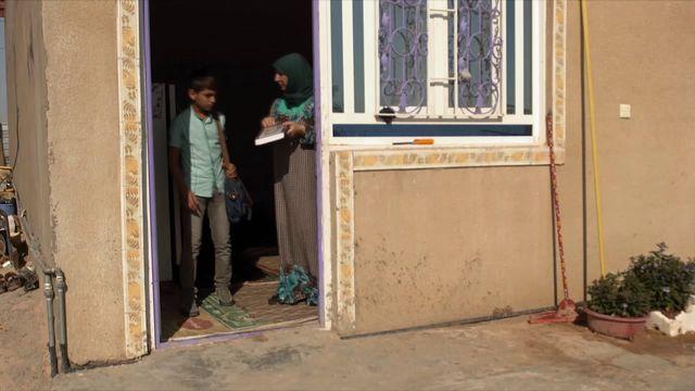 Uppdrag skolväg : Jafer i Irak