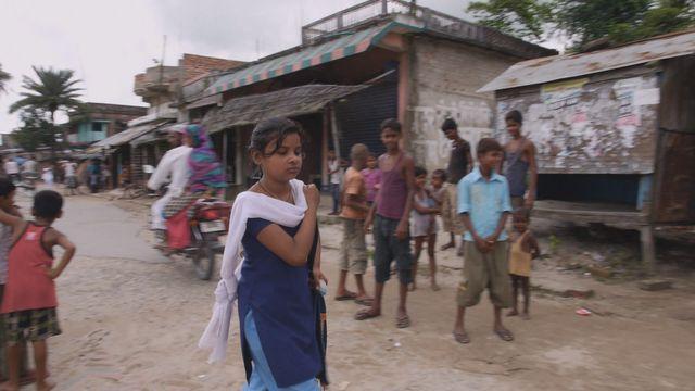 Uppdrag skolväg : Sanjana i Indien