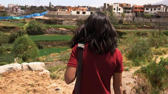 Uppdrag skolväg : Valeria i Peru