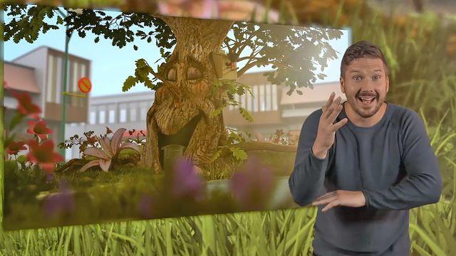 Tripp, Trapp, Träd - teckenspråkstolkat : Utflykt