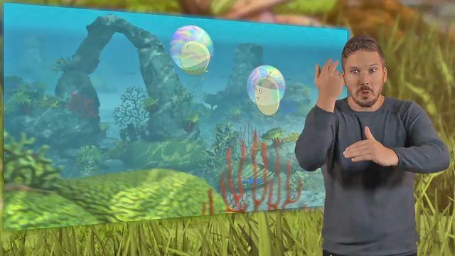 Tripp, Trapp, Träd - teckenspråkstolkat : Såpbubblor