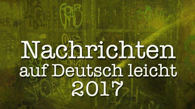 Nachrichten auf Deutsch leicht : 2017-04-01