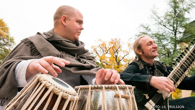 Högtidsmusik : Holi med Palace On Wheels