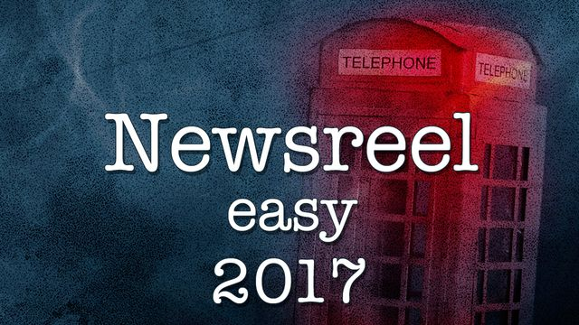 Newsreel Easy : 2017-05-20