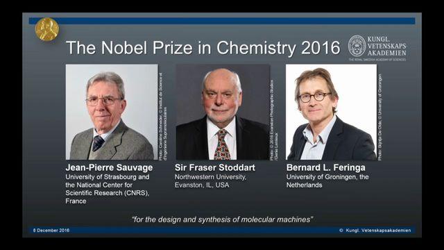 UR Samtiden - Nobelföreläsningar 2016 : Jean-Pierre Sauvage, kemi