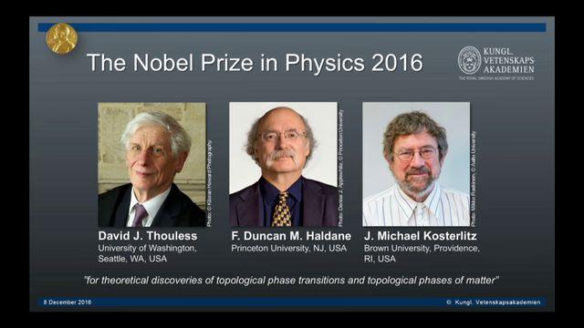 UR Samtiden - Nobelföreläsningar 2016 : F Duncan M Haldane, fysik