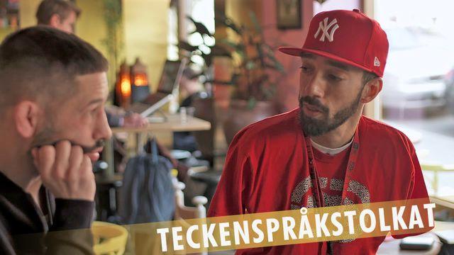 PK-mannen - teckenspråkstolkat : Får man säga handikappad?