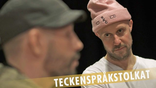 PK-mannen - teckenspråkstolkat : Ibland skrattar jag åt bögskämt