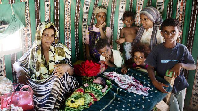 Barnaministeriet dokumentär : Barnen i flyktinglägret