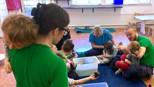 Lärarrummet : Med konduktiv pedagogik på specialförskolan
