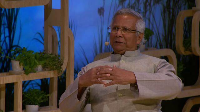 UR Samtiden - Nobel Week Dialogue 2016 : Ett samtal med Muhammad Yunus