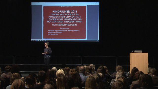 UR Samtiden - Socionomdagarna 2016 : Mindfulness 2016