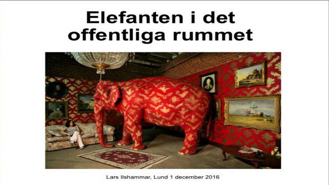 UR Samtiden - Digital tryckfrihet : Elefanten i det offentliga rummet