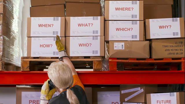 The grammar company : Questions