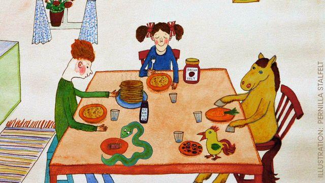 Tripp, Trapp, Träd : Matdags