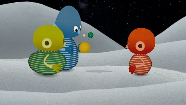 Vims i rymden - nordsamiska : Merkurius, Venus och jordens måne