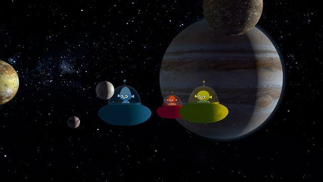 Vims i rymden - nordsamiska : Jupiter