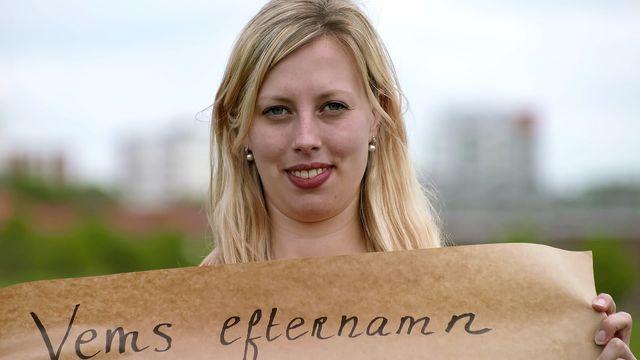 Nyanländ : Vems efternamn får ett nyfött barn?