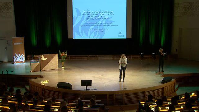 UR Samtiden - Specialpedagogikens dag 2017 : Språkliga profiler hos barn med autism