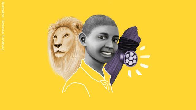 Barnen som förändrade världen : Richard som räddar lejon