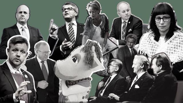 Detaljerna - nutidspolitik : Bengt Westerberg lämnar TV-studion