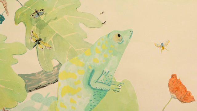 Godnattsagor - meänkieli : Kameleonten
