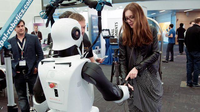 Forskare för framtiden : Robotarna mitt ibland oss