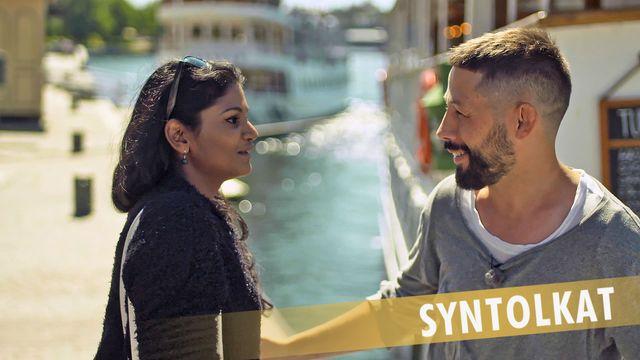 PK-mannen - syntolkat : Hur ser en svensk ut?