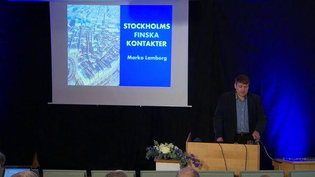 UR Samtiden - Finland - 100-åringen som inte försvann : Stockholms finska kontakter