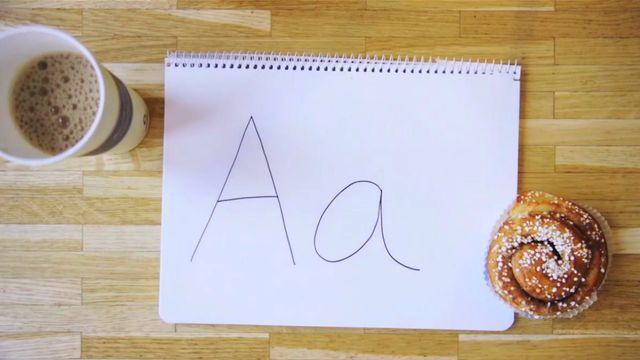 Svenska för alla : Svenska alfabetet