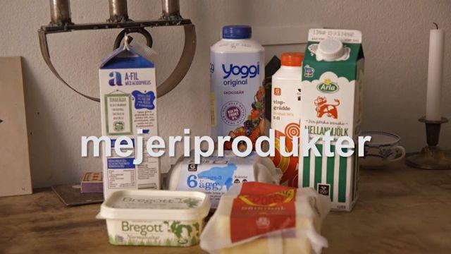 Svenska för alla : Handla mat - ordlista