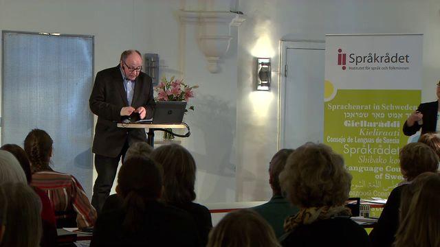 UR Samtiden - Språkseminarium i finska 2017 : Sverigefinskt vid Sveriges Radio