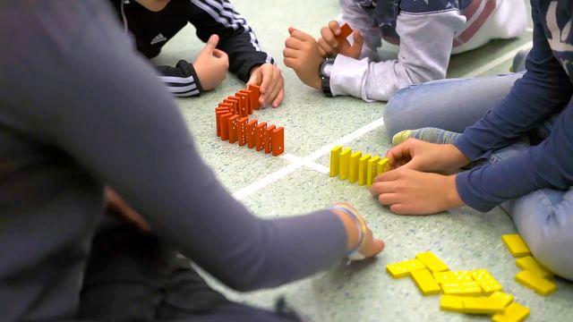 Språket i ämnet : Matte med dominoeffekt