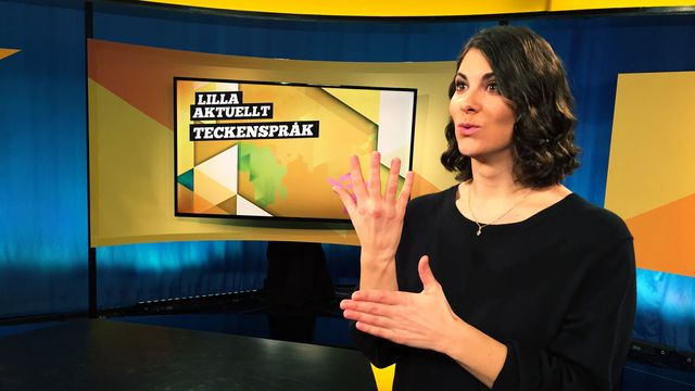 Lilla Aktuellt teckenspråk : 2017-11-24