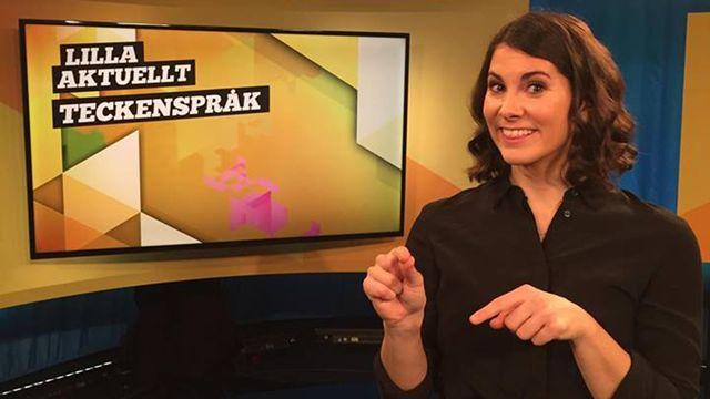 Lilla Aktuellt teckenspråk : 2017-12-01